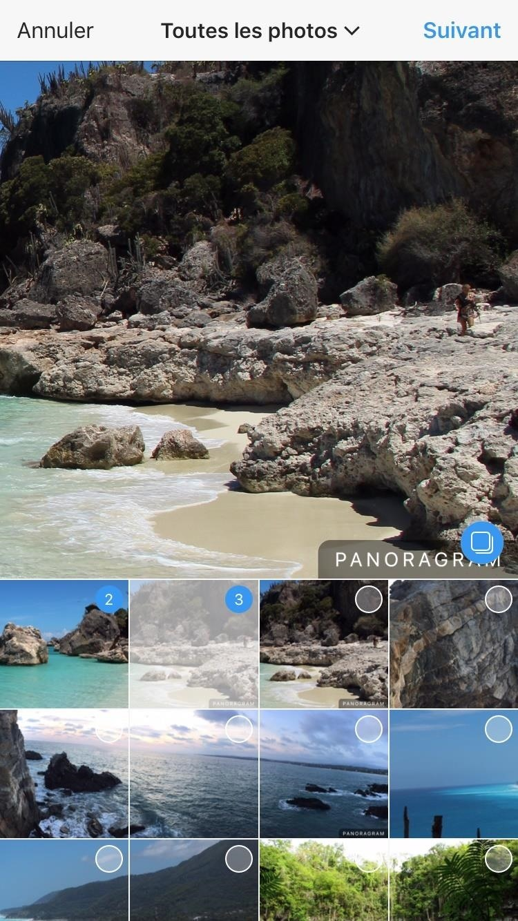 How to Post Panoramas on Instagram