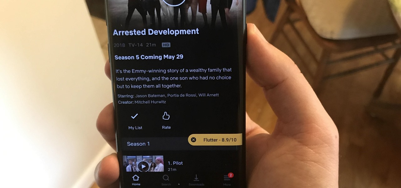 Get IMDb Ratings in the Netflix App for Android