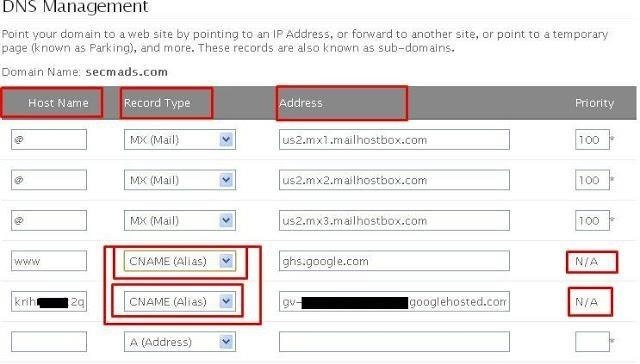How to Set Custom Domain in Blogger