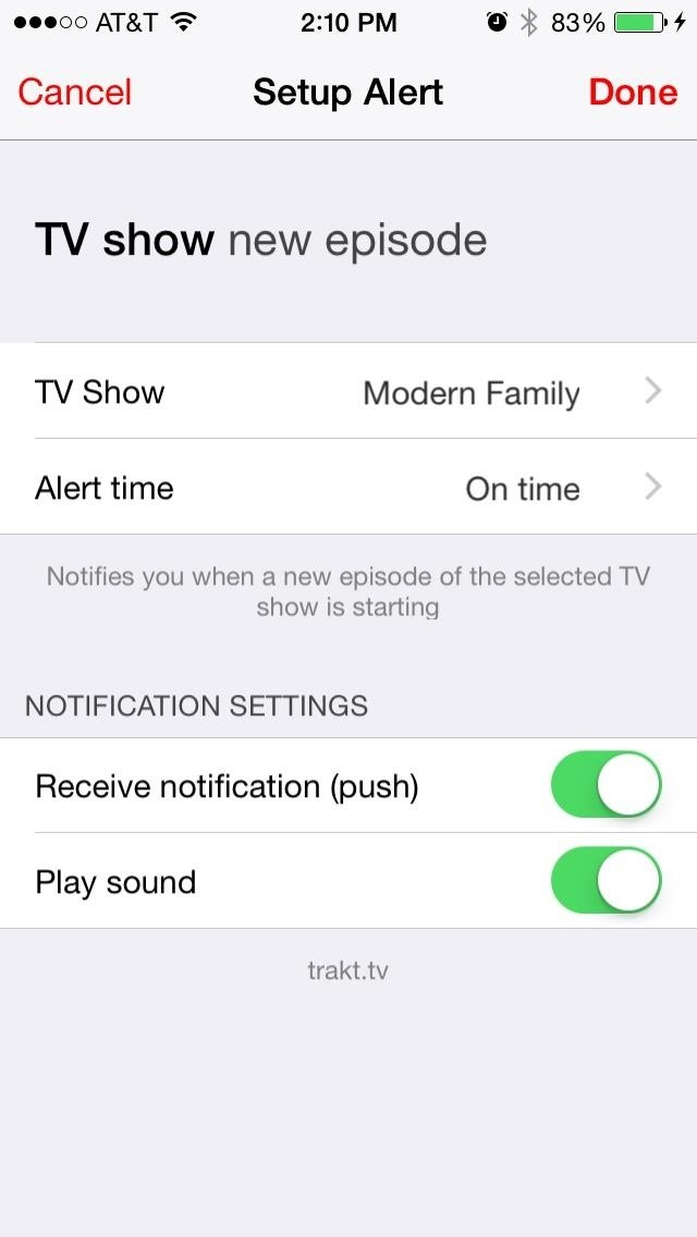 Get Custom iPhone Alerts for Shows, Films, Games, Weather, & More ...