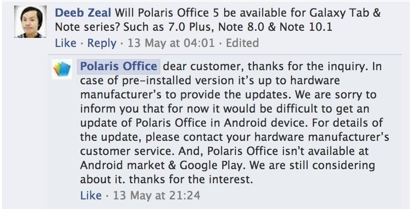 How to Get the Galaxy S4's Polaris Office 5 to Edit Microsoft Office Docs on Your Samsung Galaxy Note 2