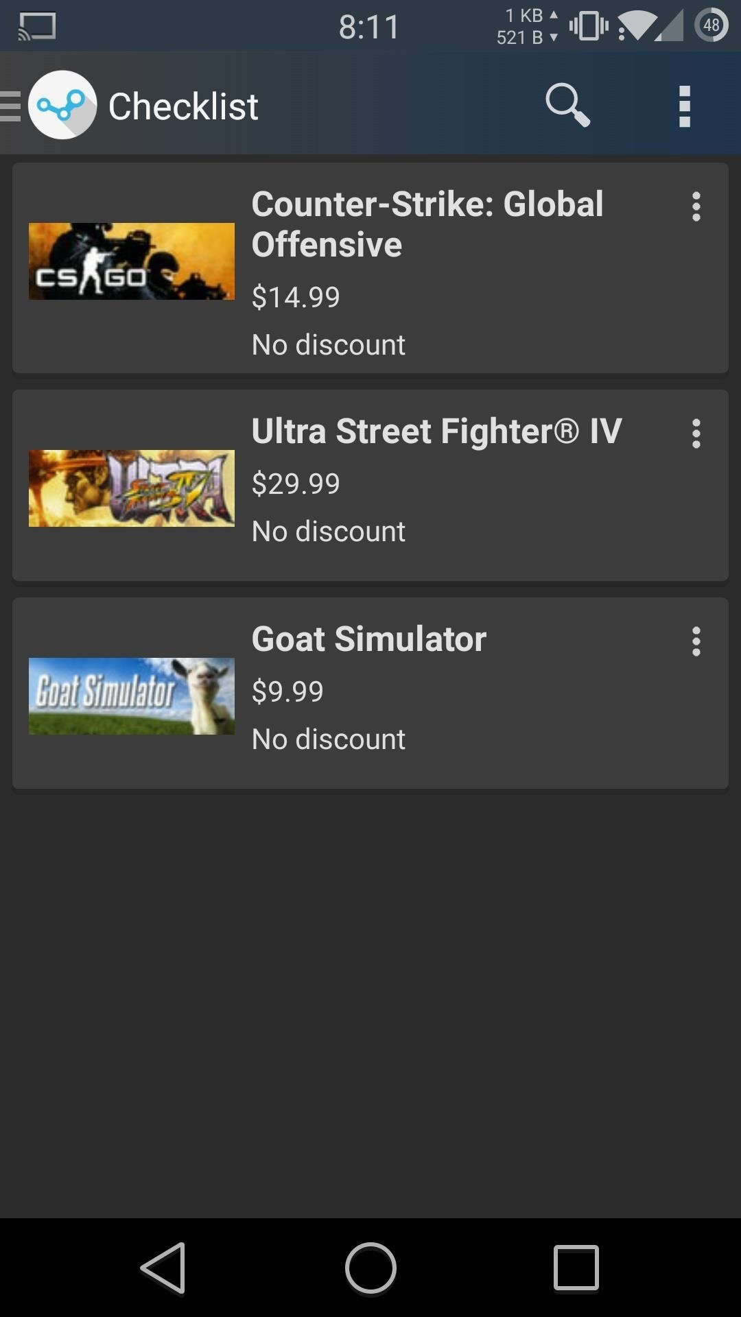 spend less on steam games using tracker discounts for android htc