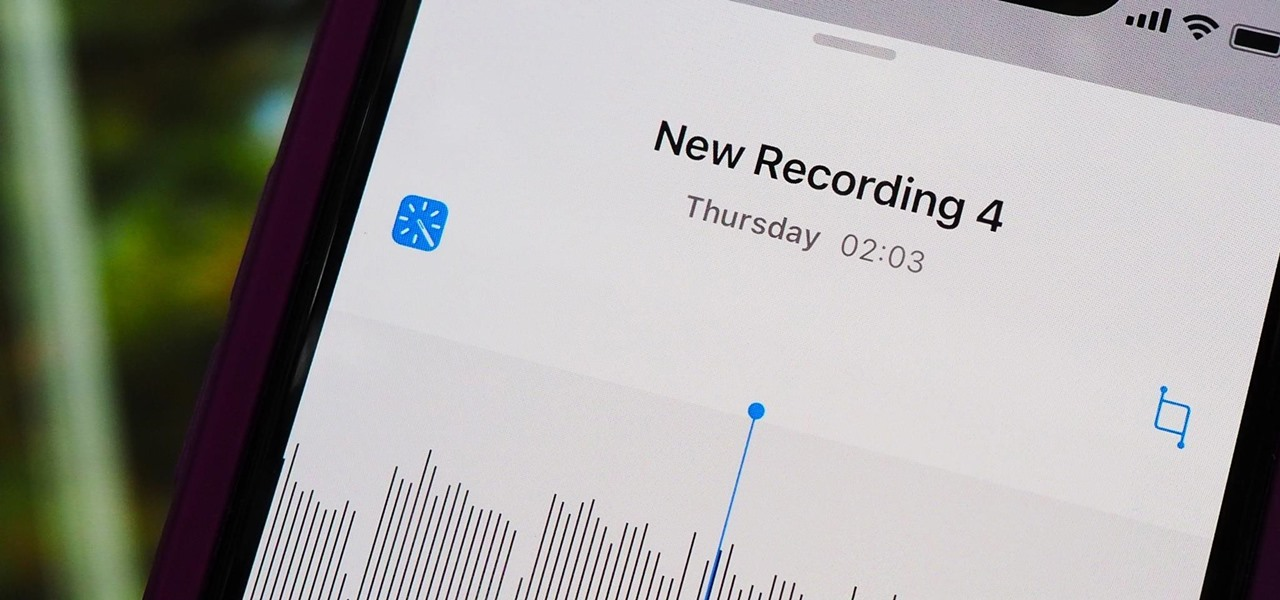 Reduce Background Noise & Echoes for Higher Quality Voice Memos in iOS 14