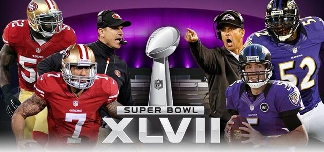 Watch the 2013 Super Bowl XLVII Game Live Online and on Your Phone