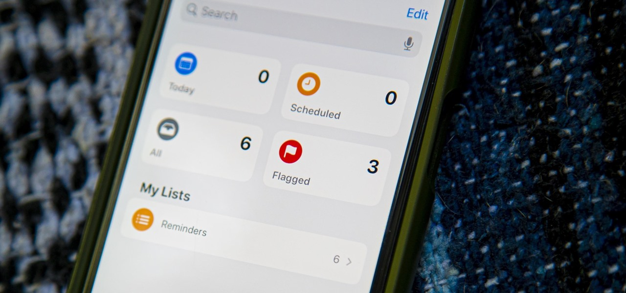 How To: Flag Important Reminders in iOS 13 to Make Them Easier to Find