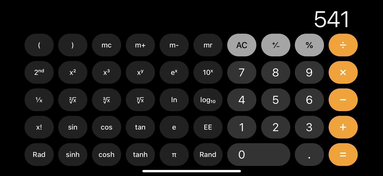 There's a Hidden Scientific Calculator on Your iPhone