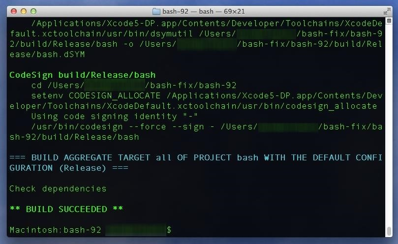 Every Mac Is Vulnerable to the Shellshock Bash Exploit: Here's How to Patch OS X