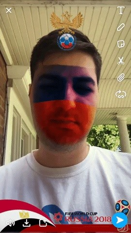 5 Snapchat Lenses You Have to Try Out This Week — World Cup, Superman & More