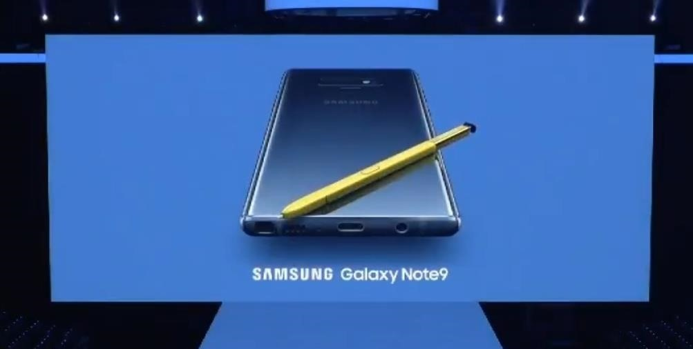 Samsung Unveils the Galaxy Note 9 with a Focus on Gaming & a Brand New S Pen