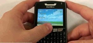 Operate the Blackberry 8330