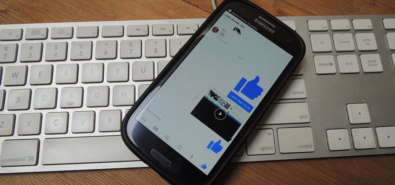 "Facebook Messenger Gets ""Big"" Likes & Instant Video Sharing"