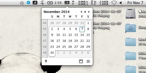 Access Your Calendar & Full Schedule Faster Using Your Mac's Menu Bar