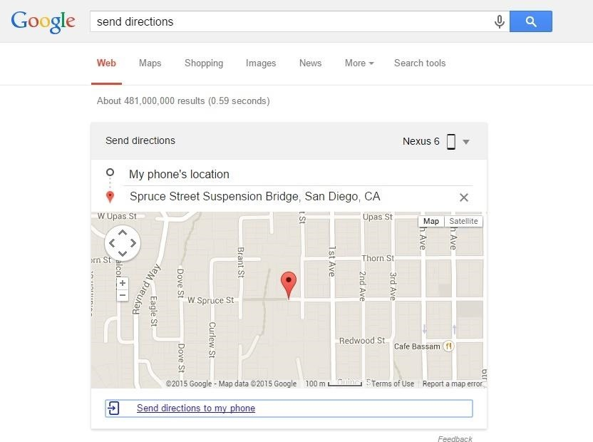 Use Google Search to Locate Your Android Phone or Tablet, Send