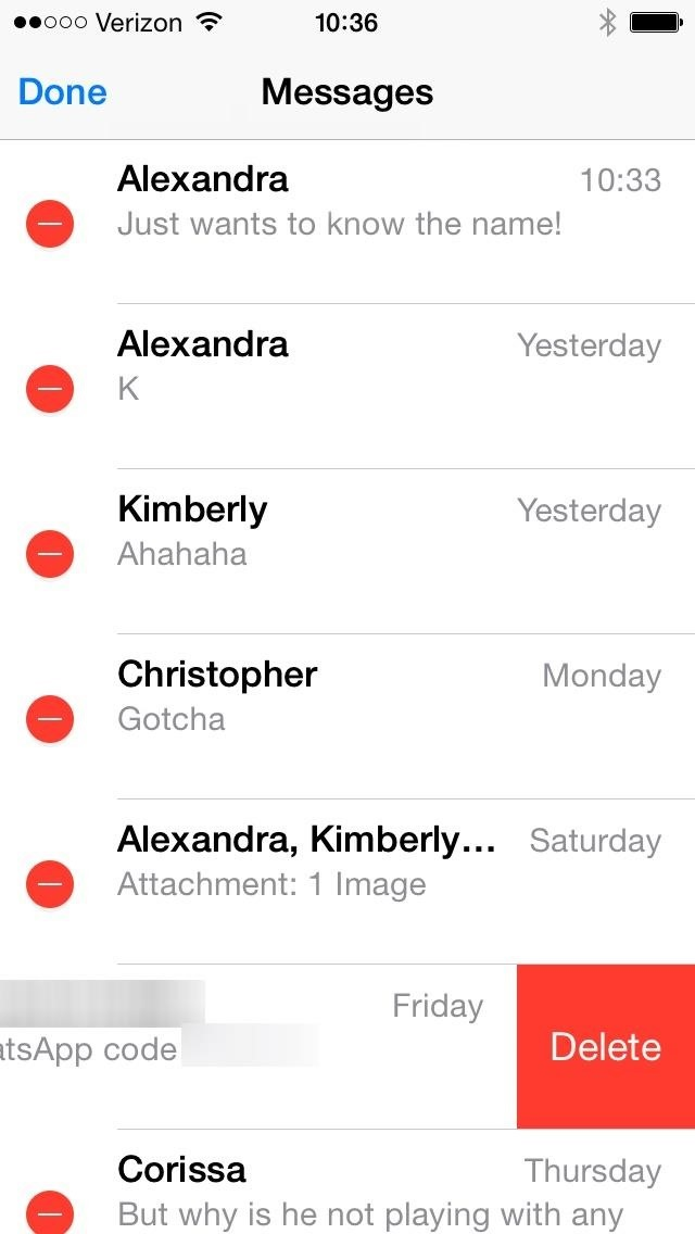 How to Edit Multiple Message Threads on Your iPhone at the Same Time