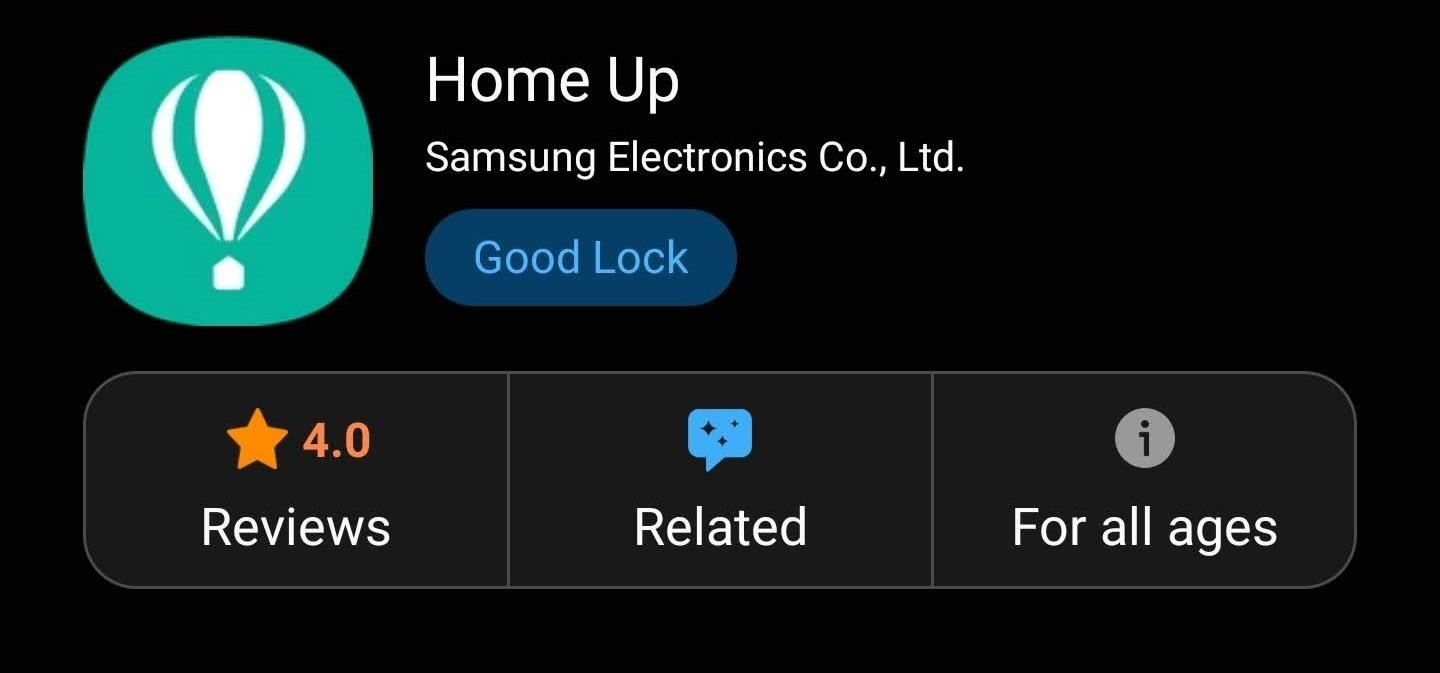 Backup and restore the layout of your home screen and icons on any Samsung Galaxy