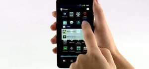 Create an app group in the Android OS on the Motorola Droid Bionic