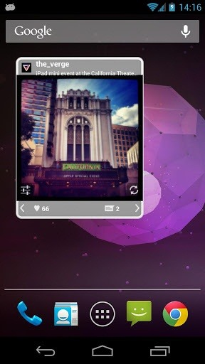 Show Your Instagram Feed on Your Android Home and Lock Screen with GramWidget