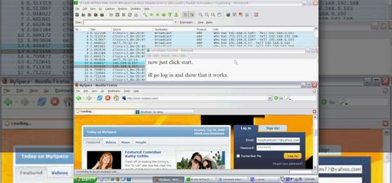 How To Hack Wifi Using Wireshark 171 Digiwonk Gadget Hacks