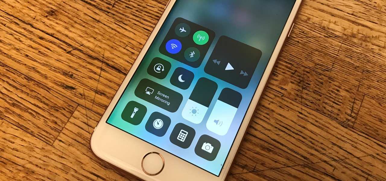 Use & Customize Control Center on Your iPhone