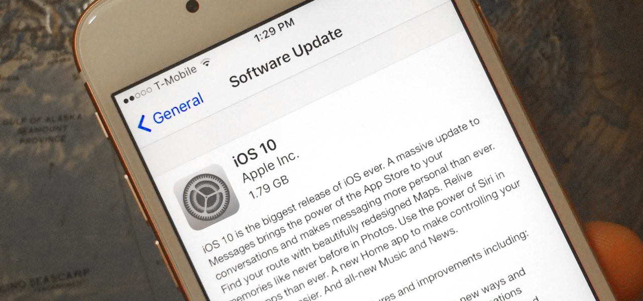iOS 10 Will Be Released on September 13, but the Gold Master Is Available Now
