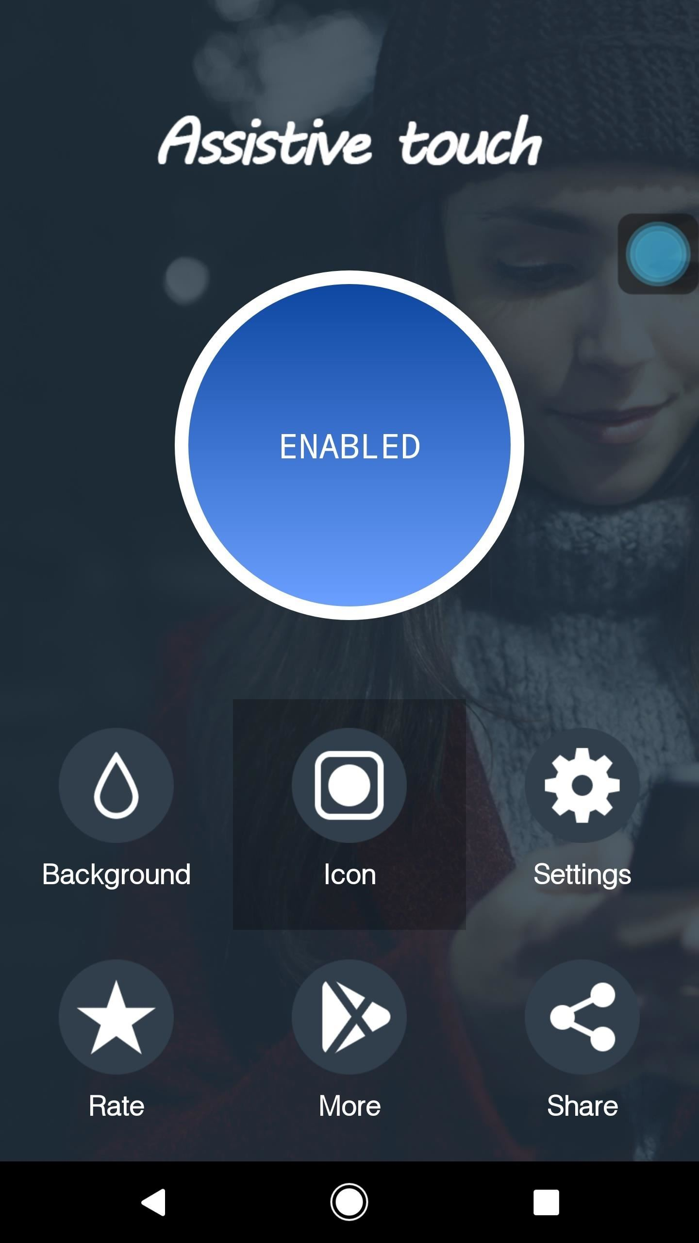 Get the iPhone's 'AssistiveTouch' Feature on Android for a Virtual Home Button