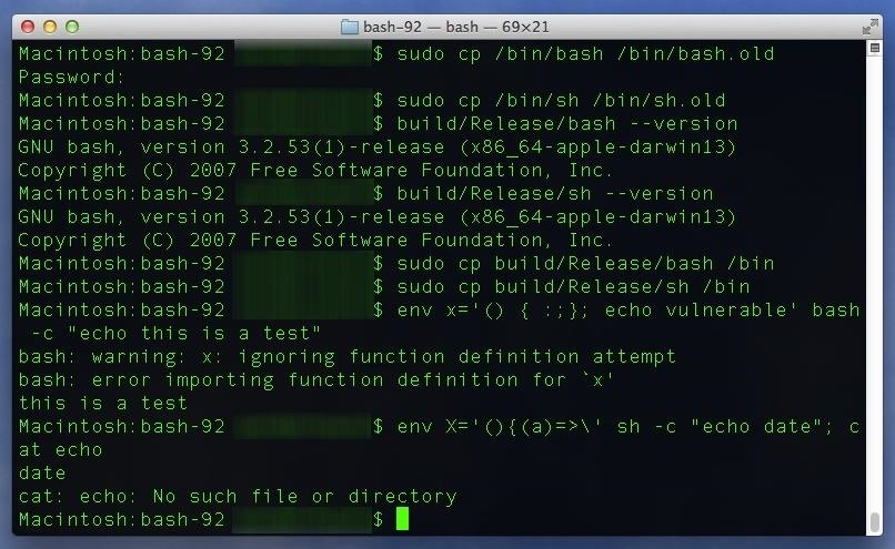 Every Mac Is Vulnerable to the Shellshock Bash Exploit: Here's How