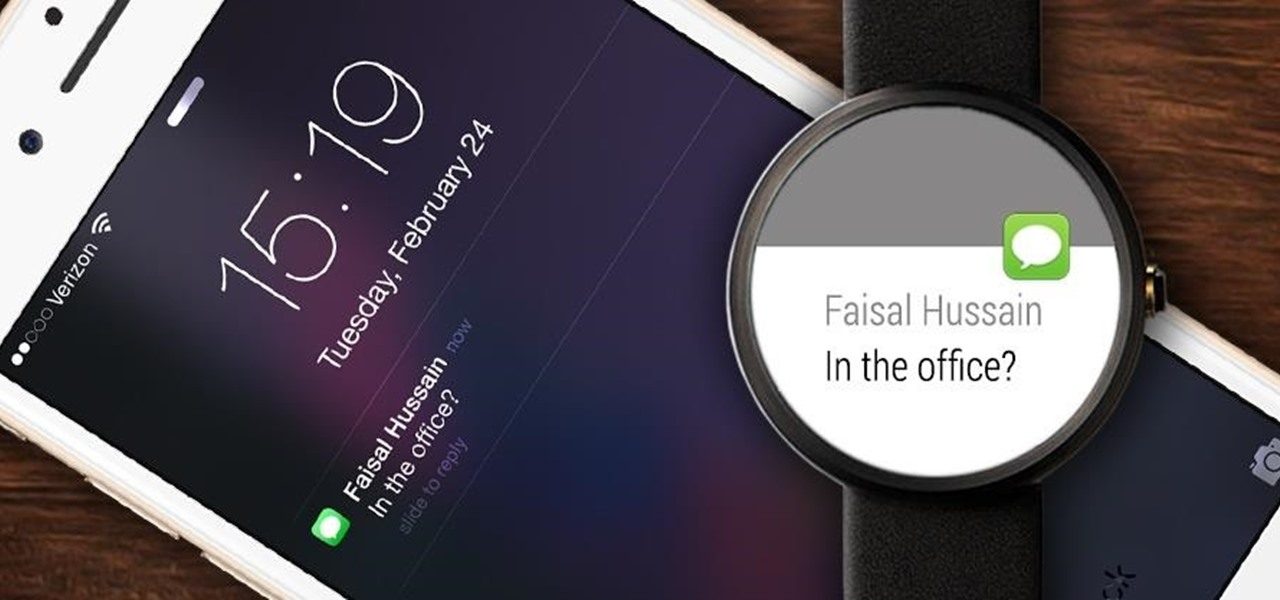 Hack Proves Android Wear Can Work with iPhones (Demo)