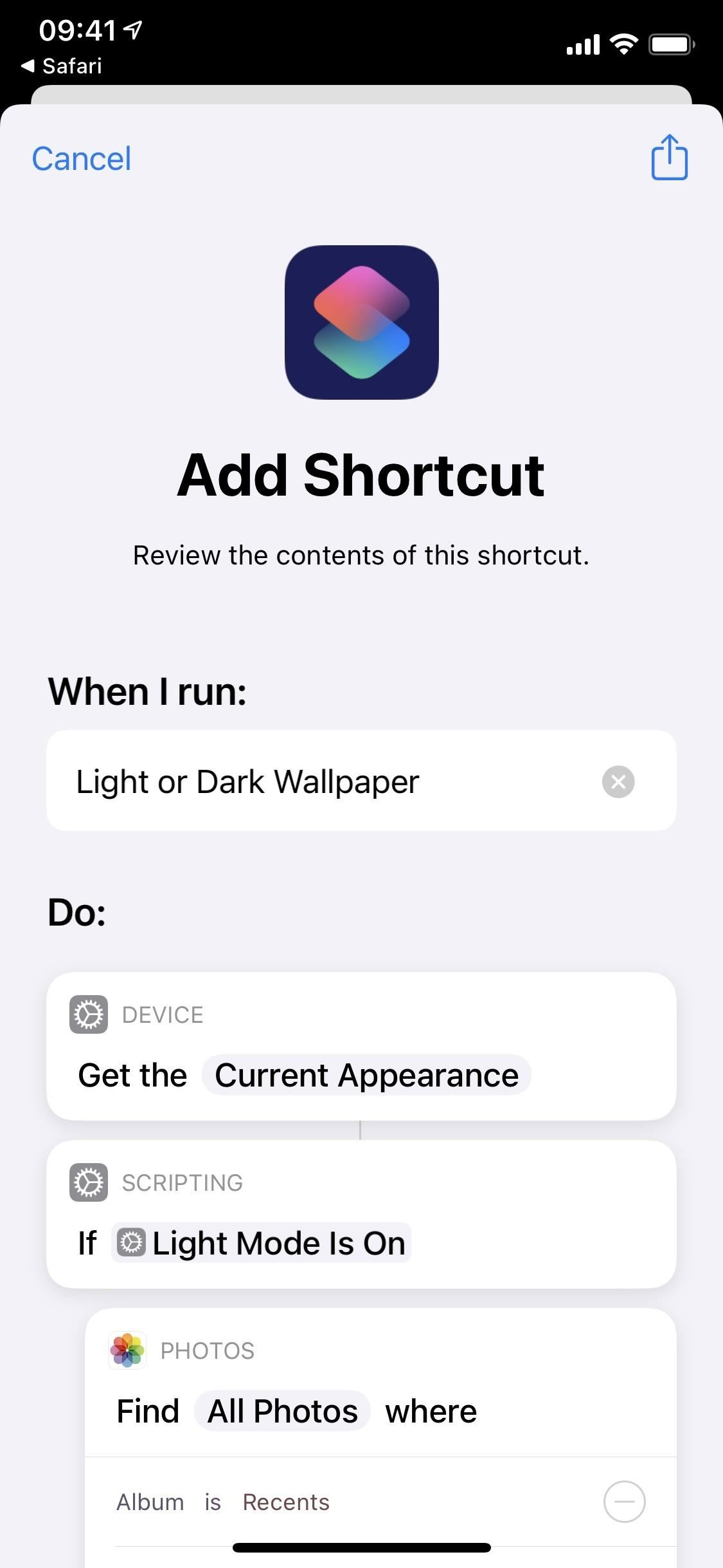 Make Your iPhone Switch Wallpapers Automatically When Dark Mode or Light Mode Is Enabled