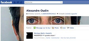 Hack the New Facebook Profile Page With Your Face