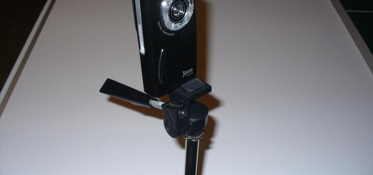 Buid a Mic Stand Camera Mount/Steadycam/Crane Shot Camera Boom