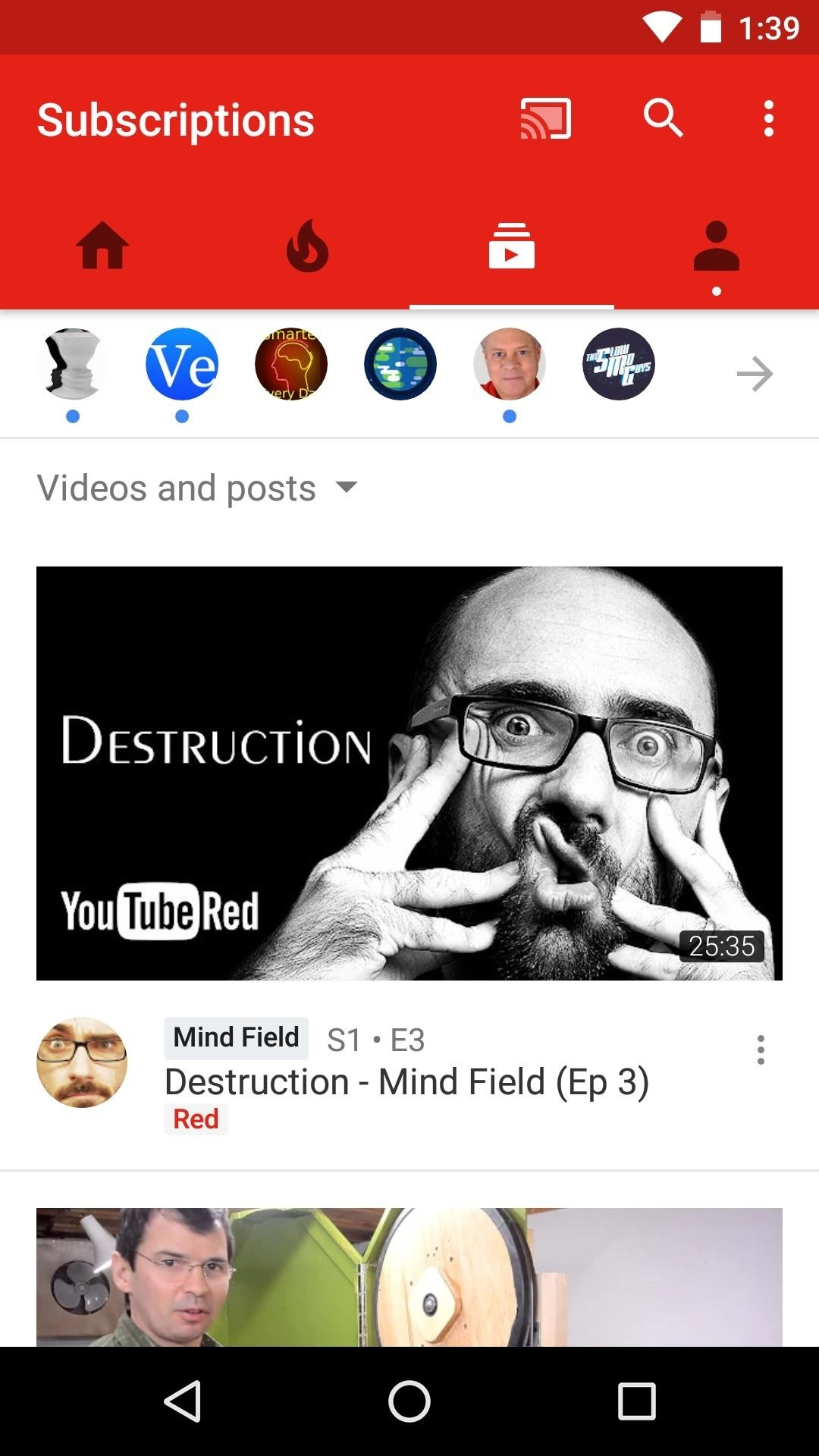 Change YouTube's Default Home Tab & Increase Max Resolution on Android