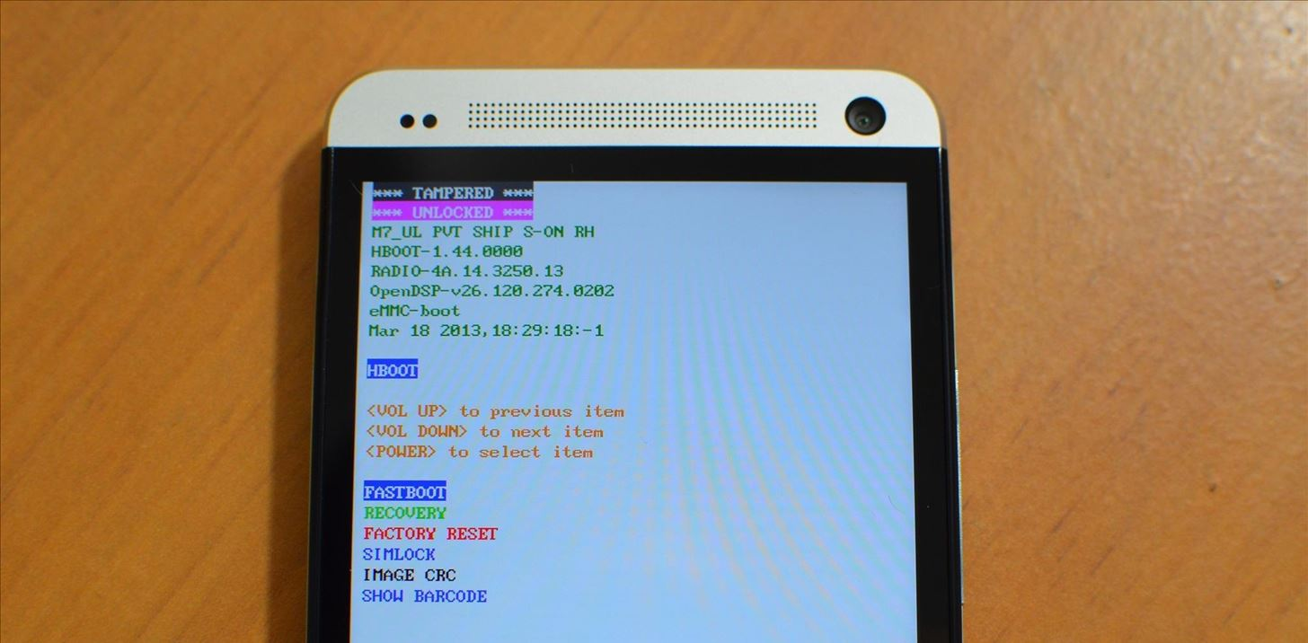 How to Unlock Your Bootloader, Root Your HTC One, & Install a Custom Recovery (Using TWRP)