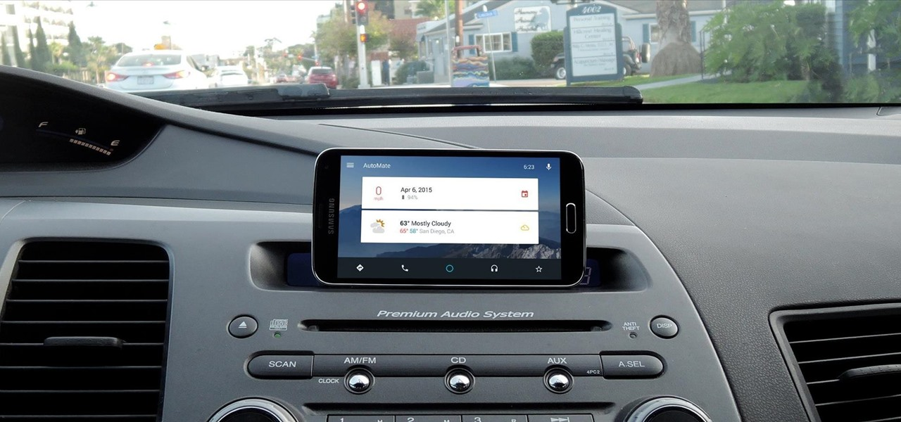 Turn Your Device into an Android Auto Clone