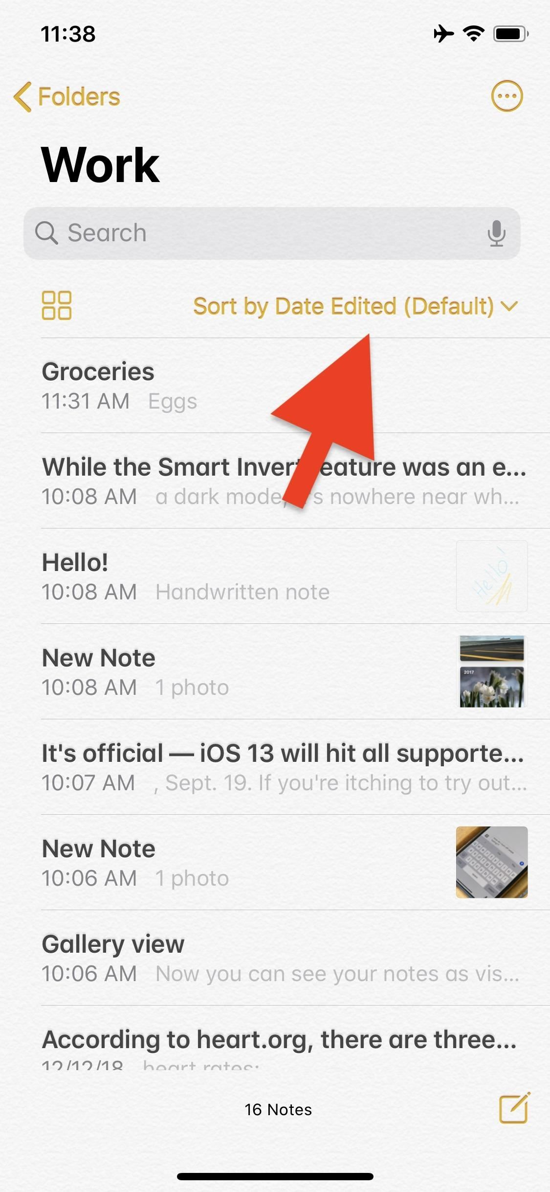 The Notes app for iOS 13 includes 15 cool new features and changes