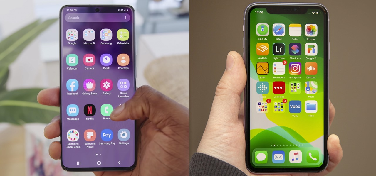 Full Spec Sheet Comparison Between Samsung & Apple's Base Models