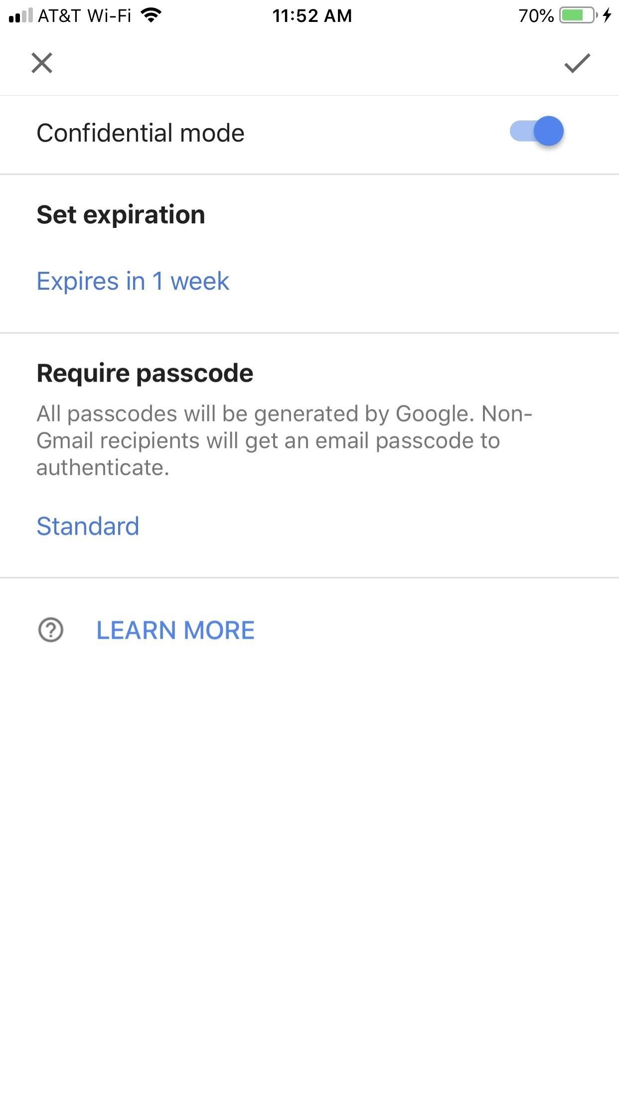 Using Gmail's New Confidential Mode to send private, self-destructive emails from your phone