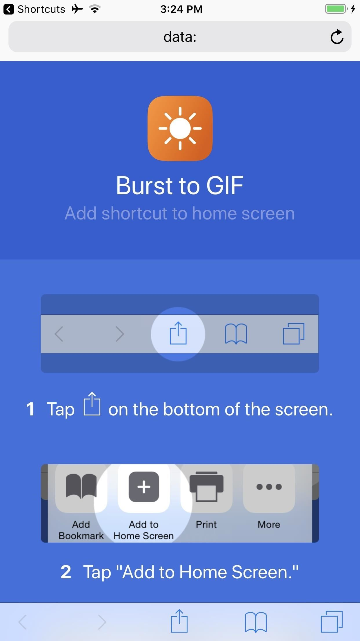 How to Turn Burst Photos into GIFs on Your iPhone