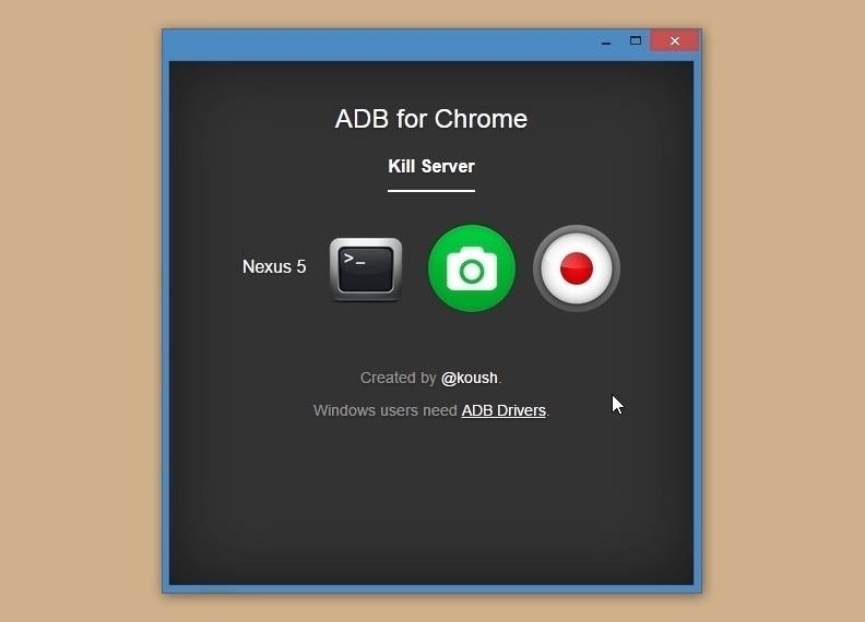 Send ADB Commands to Android Straight from Google Chrome
