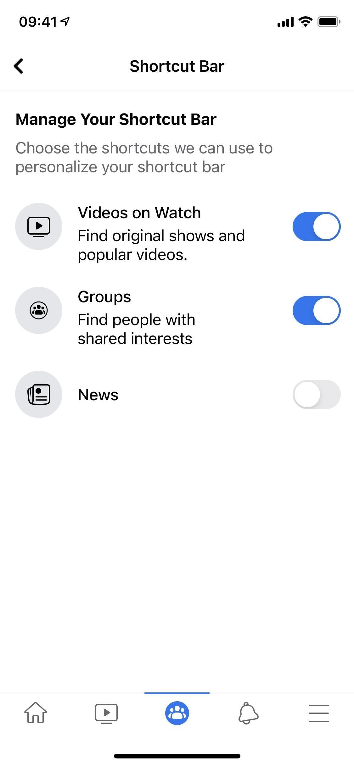 Clean Up Facebook's Shortcuts Bar to Get Rid of Tabs & Notification Dots You Don't Need