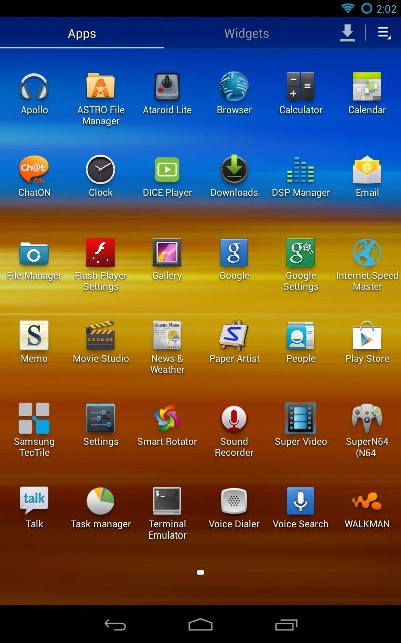 How to Turn Any Nexus 7 Tablet into a Samsung Galaxy Tab Running TouchWiz