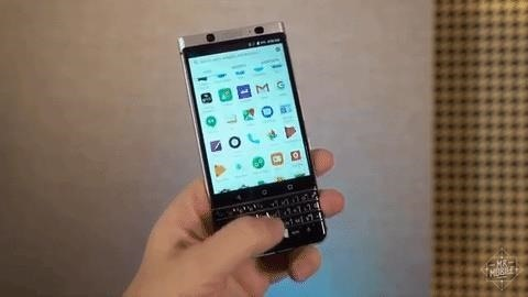 BlackBerry Unveils the KeyOne—A New Security-Focused Phone with a Physical Keyboard