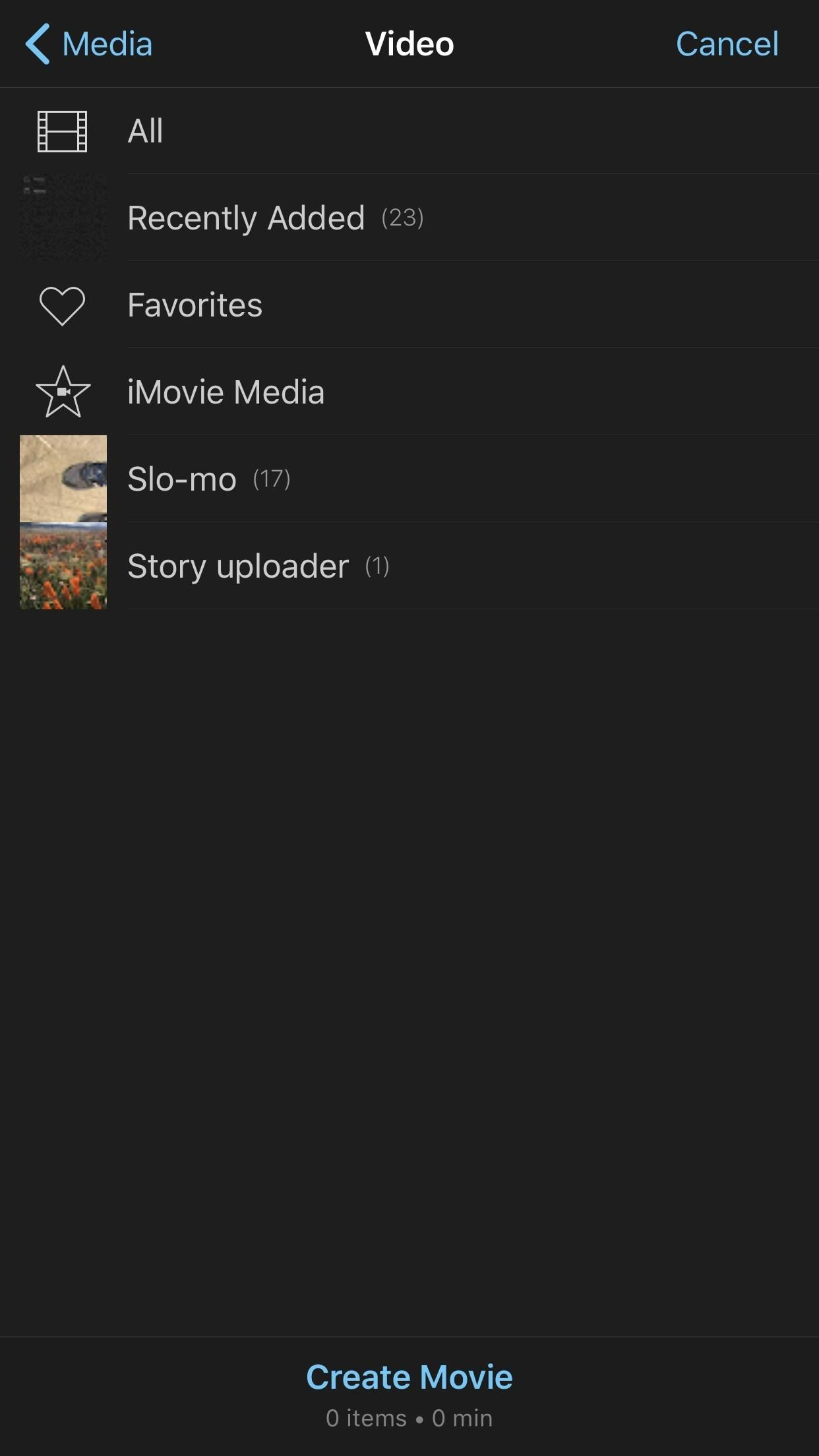how to use imovie app on iphone