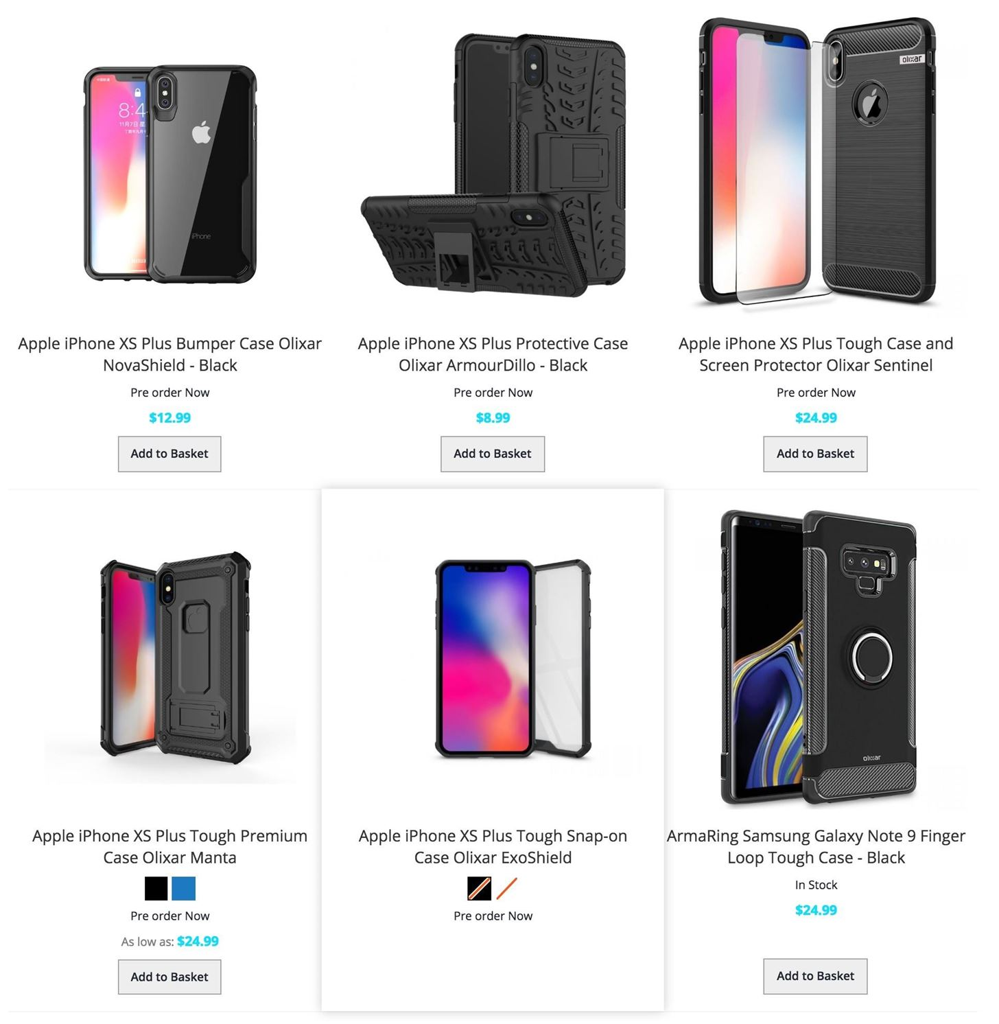 Case Makers are Ready for the New iPhone 9, XS & XS Plus with Purchase & Preorder Pages Live Right Now