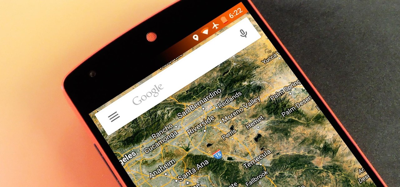 Remove the Orange Bars in Battery Saver Mode on Android Lollipop