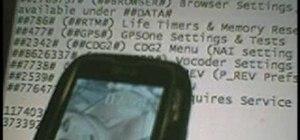 Hack LG Rumor/Rumour LG260 Virgin Mobile