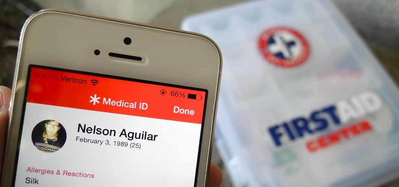 Add an Emergency Medical Card to Your iOS 8 Lock Screen