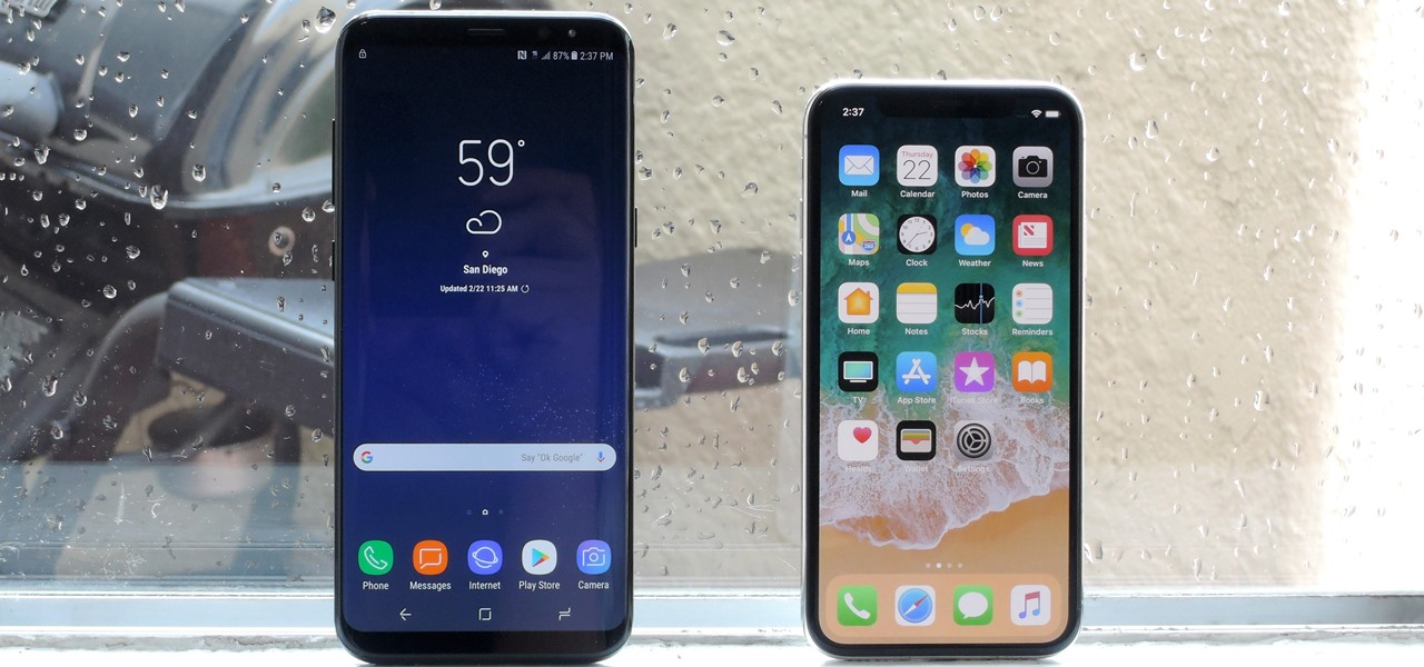 How Does the iPhone X Stack Up Against the New Galaxy S9?