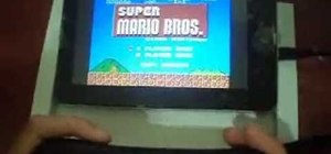 Play NES games on a Dropad A8 tablet with a Wiimote controller