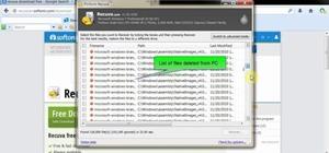 how to use recuva to delete