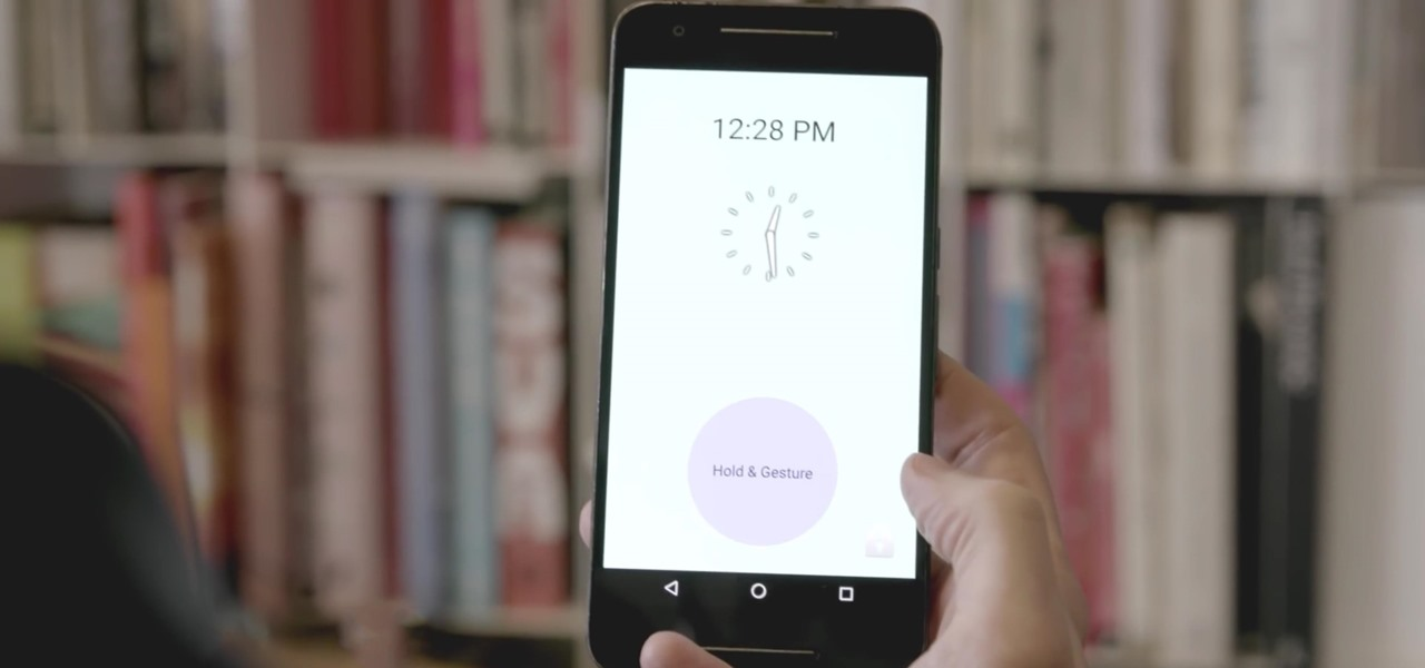 Use Custom Waving Gestures to Unlock Your Phone Like a Crazy Person